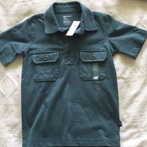 Kids cotton polo shirt